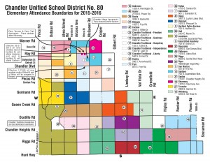 Chandler Elementary School Boundaries