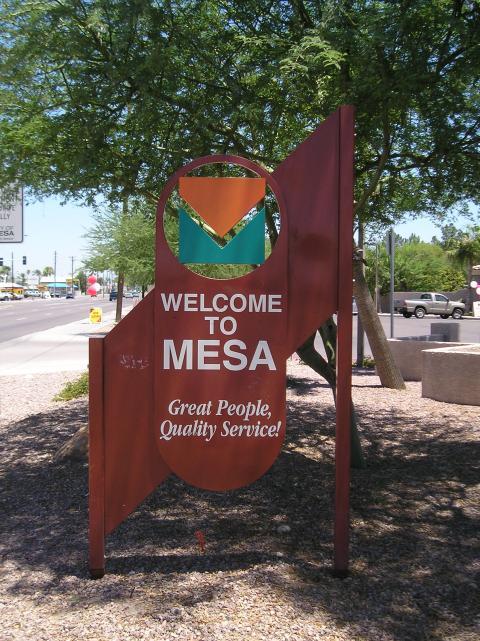 In Mesa AZ